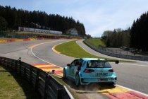 Vier VW Golf GTI TCR aan de start in Spa-Francorchamps, Vernay en Huff als internationale vedettes!