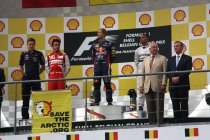 Spa: Sebastian Vettel wint na dominante vertoning