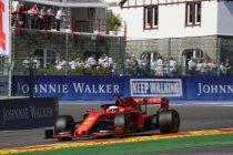 België: Ferrari boven bij eerste vrije training
