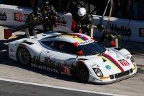 Rubens Barrichello en Ryan Hunter-Reay aan de start in Daytona