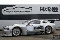 Alzen haalt ex-Marc VDS Racing Ford Mustang GT3 weer van stal