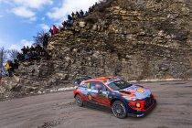 WRC: Neuville nog niet uitgeteld in Monte-Carlo