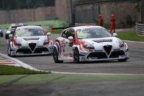 Toppers fijntunen Alfa Romeo Giulietta's TCR in Monza