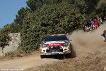 Rally van Sardinië: Teleurstelling bij Citroën