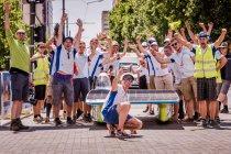 Bert Longin opnieuw van start in World Solar Challenge in Australië