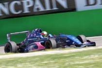 NEC Formule Renault 2.0: Silverstone: Race 2: Eerste zege voor Seb Morris
