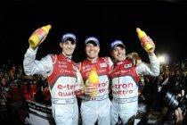 12H Sebring: Mooie dubbel voor Audi, met zege voor Treluyer/Fässler/Jarvis