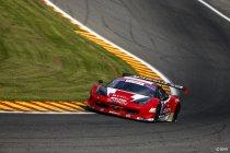 Spa: Race 1: Zege voor Ferrari – beide WRT Audi's in de fout