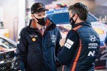 WRC: Tänak opent fors, Suninen crasht fors