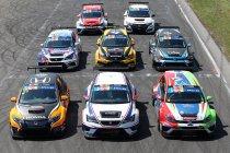 12 wagens present op Test & Press Day TCR Benelux Zandvoort