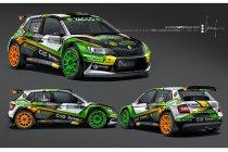 Cédric De Cecco aan de start van de Rally van Monte Carlo