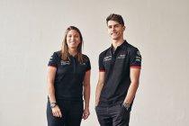 Simona de Silvestro en Thomas Preining testpiloten bij Porsche