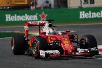Mexico: Vettel miniem sneller dan Hamilton tijdens tweede vrije training
