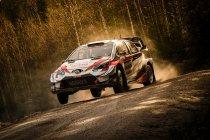 WRC: Evans voert de forcing in Zweden