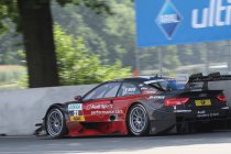 Edoardo Mortara wint, Audi domineert knotsgekke Zandvoort-race