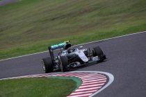 Japan: Rosberg klopt Hamilton met dertien duizendste voor pole