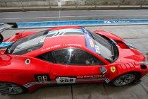 Vierde podium op rij voor Curbstone FMA Ferrari en Van Glabeke/Jonckheere