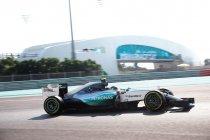 Abu Dhabi: Rosberg primus in derde vrije training