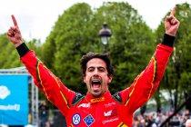 Lucas di Grassi wint eerste e.Prix van Parijs