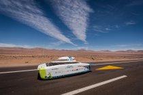 Belgische zonnewagen breekt records en blijft op kop in Carrera Solar Atacama
