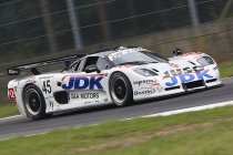 Chris Mattheus en Guino Kenis met G&A Racing Mosler MT900R aan de start