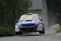 Rallye de Wallonië: Princen leidt - Loix verrassend in strijd voor tweede plaats