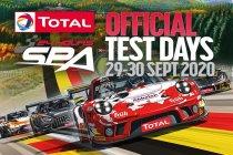 24H Spa: Officiële testdagen deze dinsdag en woensdag