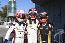 Monza: ART GP palmt gans podium in