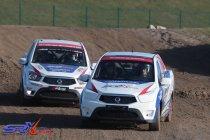 Nieuwe Ssangyong SRX Cup in voorprogramma WK Rallycross-manche te Mettet (+video)