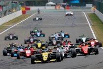 Mooie kalender voor de Formula Renault Eurocup in 2020