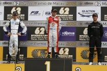 GP Macau F3: Rosenqvist wint kwalificatierace na straf voor Giovinazzi