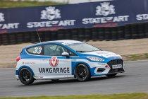 Ford Fiesta Sprint Cup: Zege voor Laurens de Wit - Zware crash voor Romain Degeer