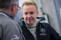 Barcelona test: Nikita Mazepin houdt Mercedes bovenaan de tabellen
