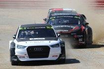 Krisztian Szabo met Audi S1 van EKS naar World RX