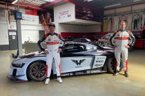 Peter Guelinckx en Bert Longin met PK Carsport Audi R8 LMS GT2 naar Fanatec GT2 European Series