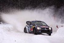 Rally van Zweden: Ogier opent offensief - Sterke Thierry Neuville