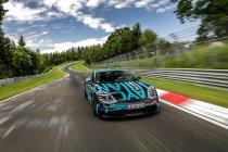 Porsche Taycan pakt record op Nürburgring Nordschleife (+ Video)