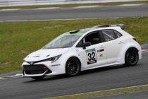 De Toyota Corolla op waterstof rijdt voor het eerst op Fuji Speedway
