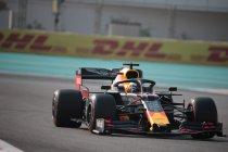 Abu Dhabi: Verstappen voor de beide Mercedes rijders in sessie drie