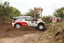Rally van Argentinië: Loeb neemt leiding over na schuiver van Ogier