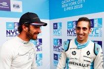 New York: Sébastien Buemi pakt pole voor tweede race op natte baan