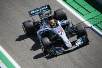 Barcelona: VT1: Hamilton en Mercedes riant op kop – Vandoorne P13