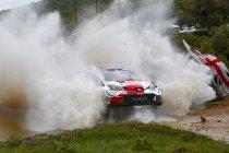 Sardinië: Ogier & Toyota nemen over van Tanak & Hyundai - Neuville op podiumkoers