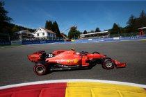 België: Ferrari blijft domineren, klapper voor Hamilton