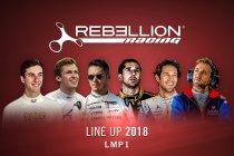 Rebellion bevestigt terugkeer naar LMP1 met topbezetting