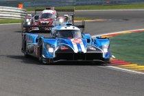 Acht rijders testen Ginetta LMP1