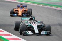 Spanje: Overtuigende zege voor Hamilton - Verstappen op podium