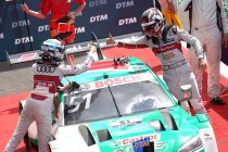 Spa: René Rast verzilvert pole, Nico Muller als leider naar Lausitzring
