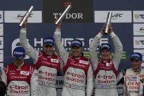 6H Silverstone: Audi met schitterende dubbel, McNish nog voorbij Tréluyer in laatste minuten