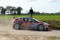 Thierry Neuville (Ford Fiësta R5) en Chris Meeke (Peugeot 208 T16 R5) showen de toekomst
